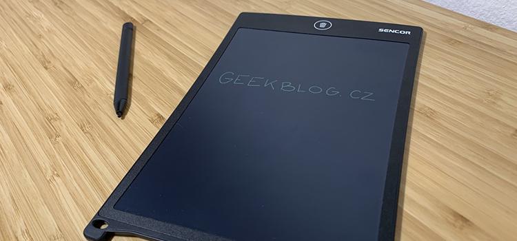 Tip na dárek pro Geeka: Digitální zápisník