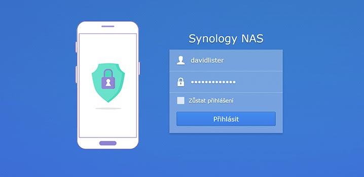 Jak nastavit dvoufázové ověření na Synology NAS